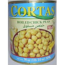 Chick Peas Cortas 30oz