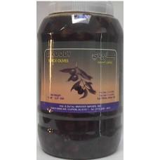 Lebanese Black Olives 4.5 Lb