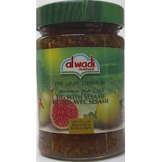 Alwadi Fig Jam Sesame13oz