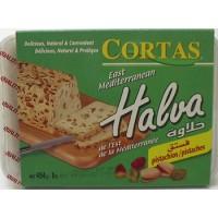 halva with pistachio cortas 1 lb