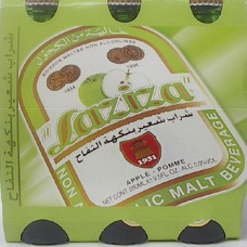 Laziza Beer Apple 8.5oz