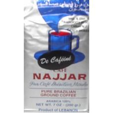 Najjar Coffee Decafeinated 200 G