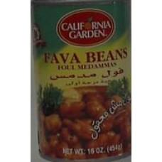 Fava Beans California Garden 16 Oz