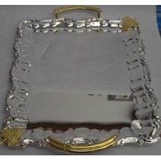 Guest Tray Silver Large