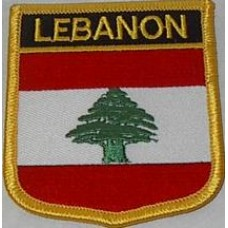 Lebanon Flag Patch