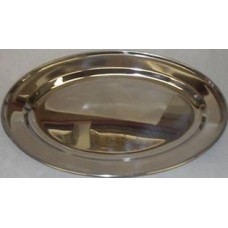 Stainless Tray Oval 35 Cm