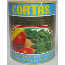 Cortas Okra With Tomato Sauce 29oz