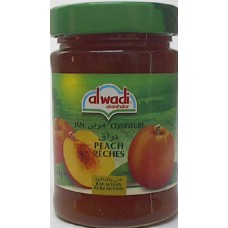 Alwadi Peach Jam 13oz