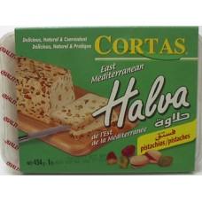 Halva Pistachio Cortas 1 Lb