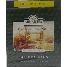 Ahmad English Tea Bags 100