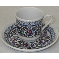 Coffee Cups Porcelaine Half Dzn