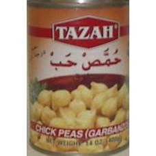 Chickepeas Tazah 16 Oz