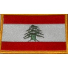 Lebanese Patch Flag