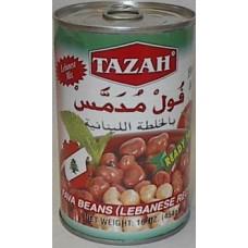 Tazah Foul Lebanese Style 15 Oz